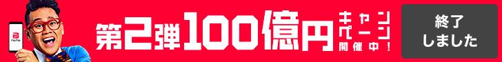再び( ゚д゚)キターーーッ PayPayのあげちゃうキャンペーン第二弾!![2019/2/12〜]