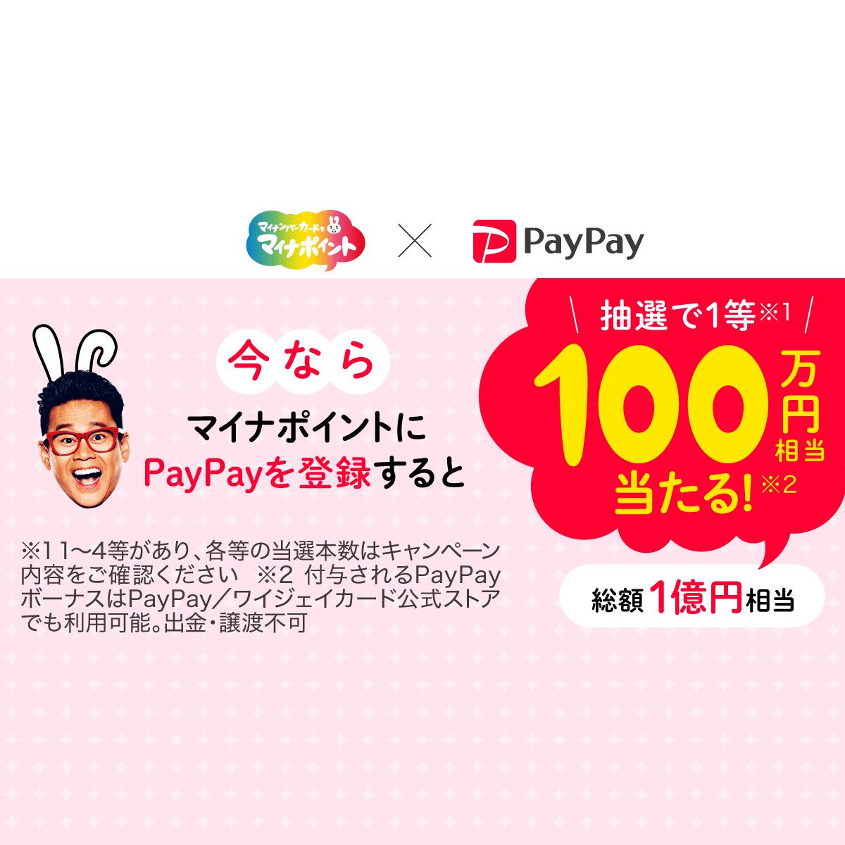 マイナポイントペイペイジャンボ - PayPay